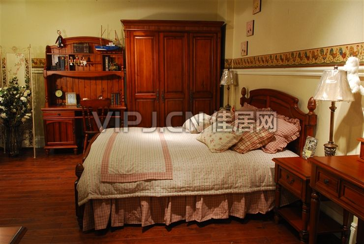 英式卧室床