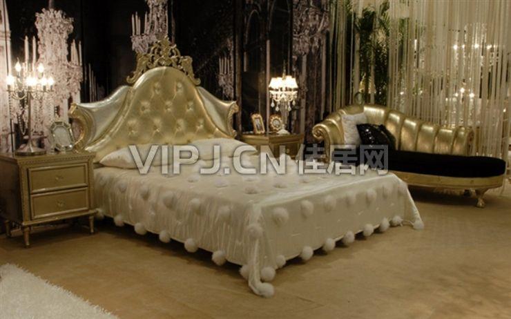 欧式高贵床新款图片