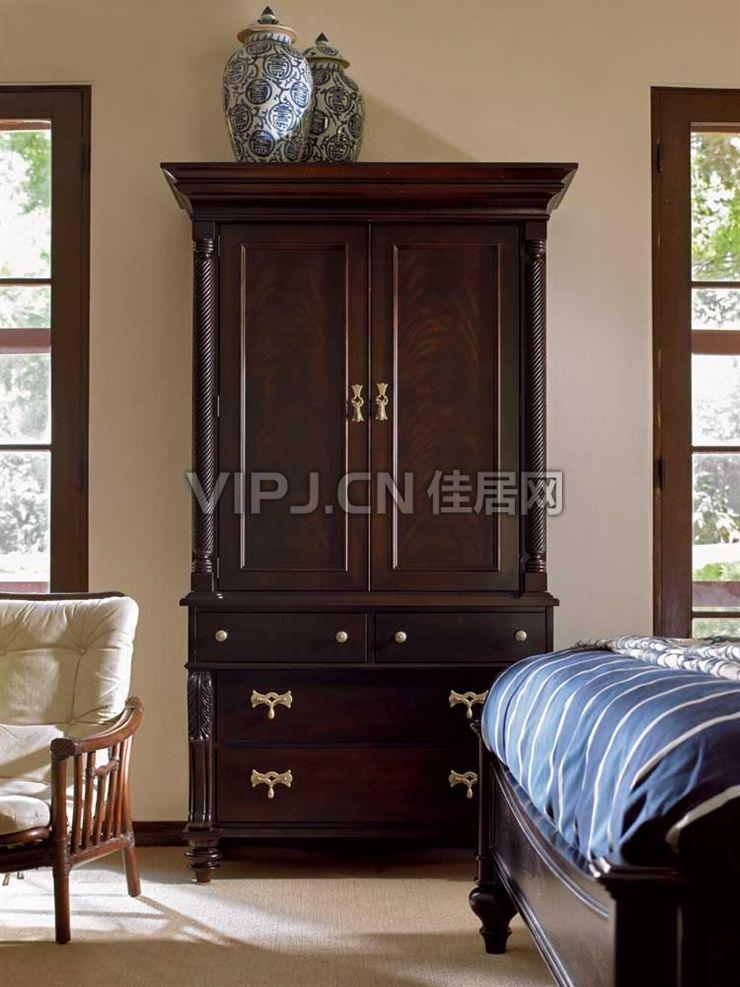 欧式卧室衣柜