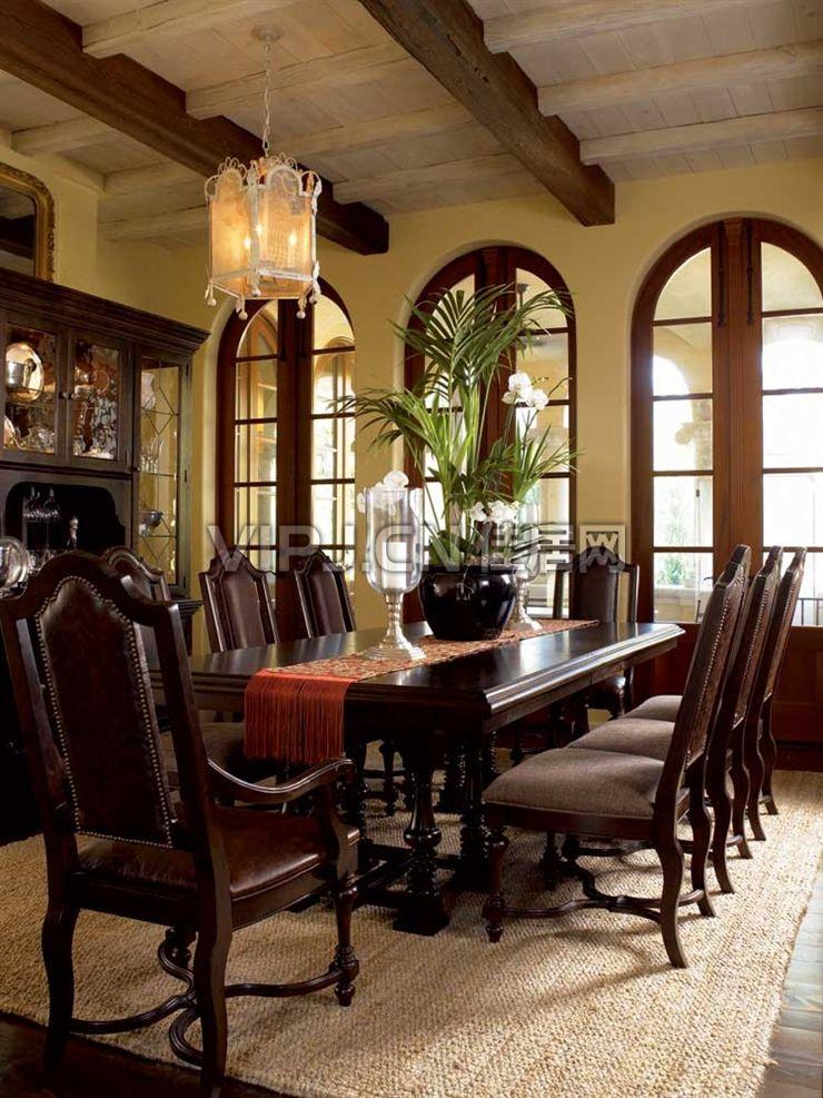 欧式餐厅餐厅套装