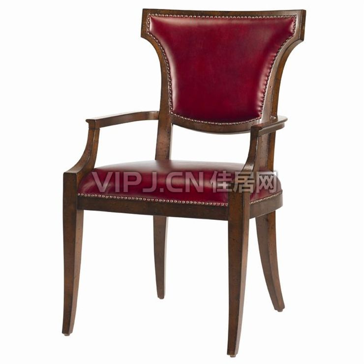 欧式餐厅餐椅