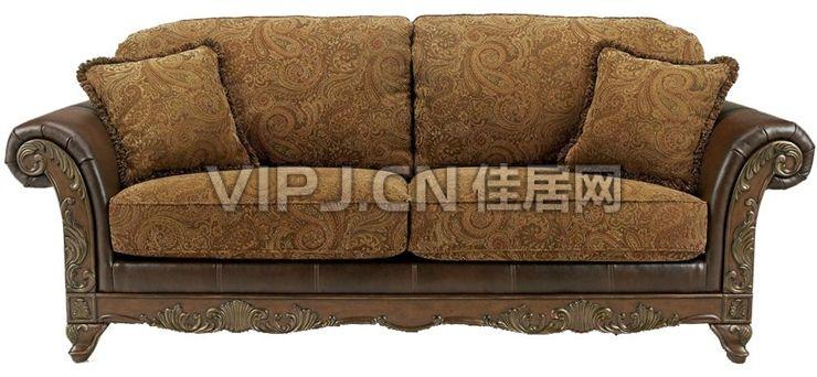【欧式客厅沙发16407】