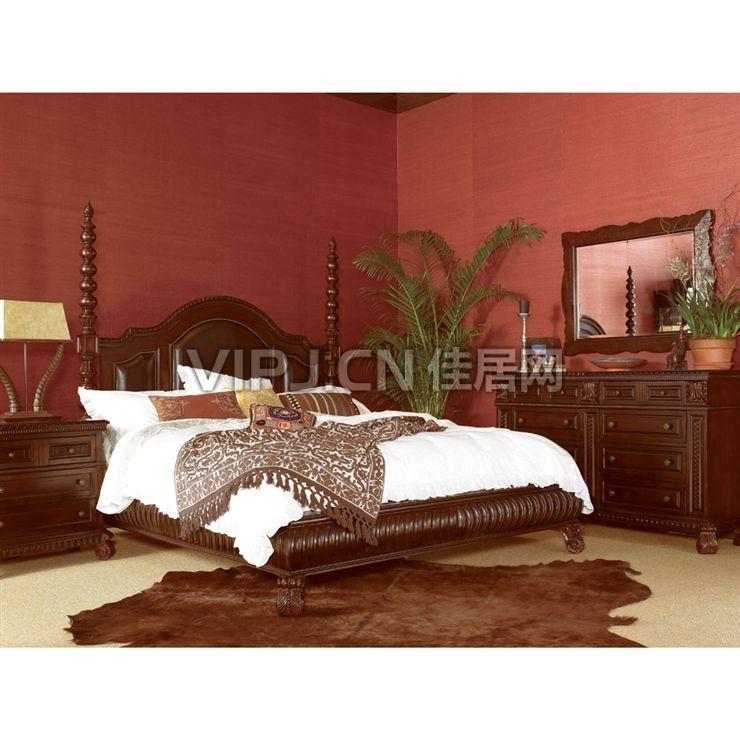 欧式卧室床