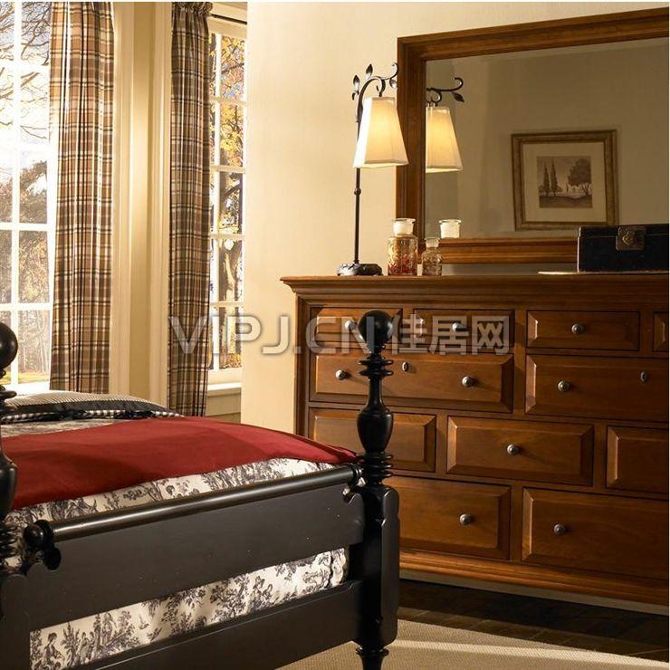 卧室梳妆台 卧室梳妆台摆放位置 卧室梳妆台效果图