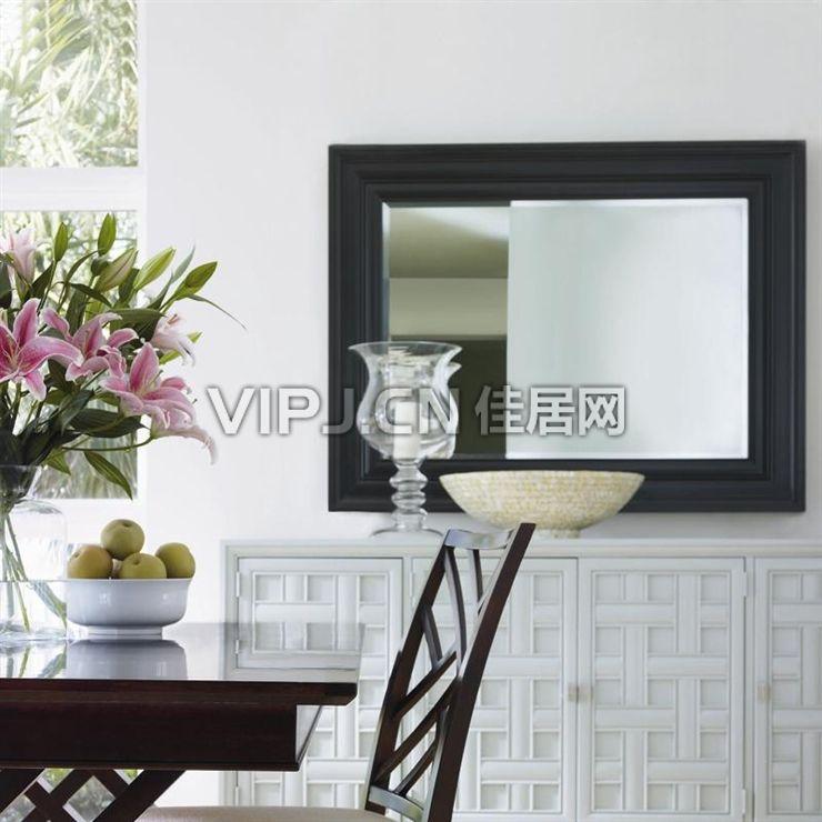 【欧式卧室梳妆台-镜17807】