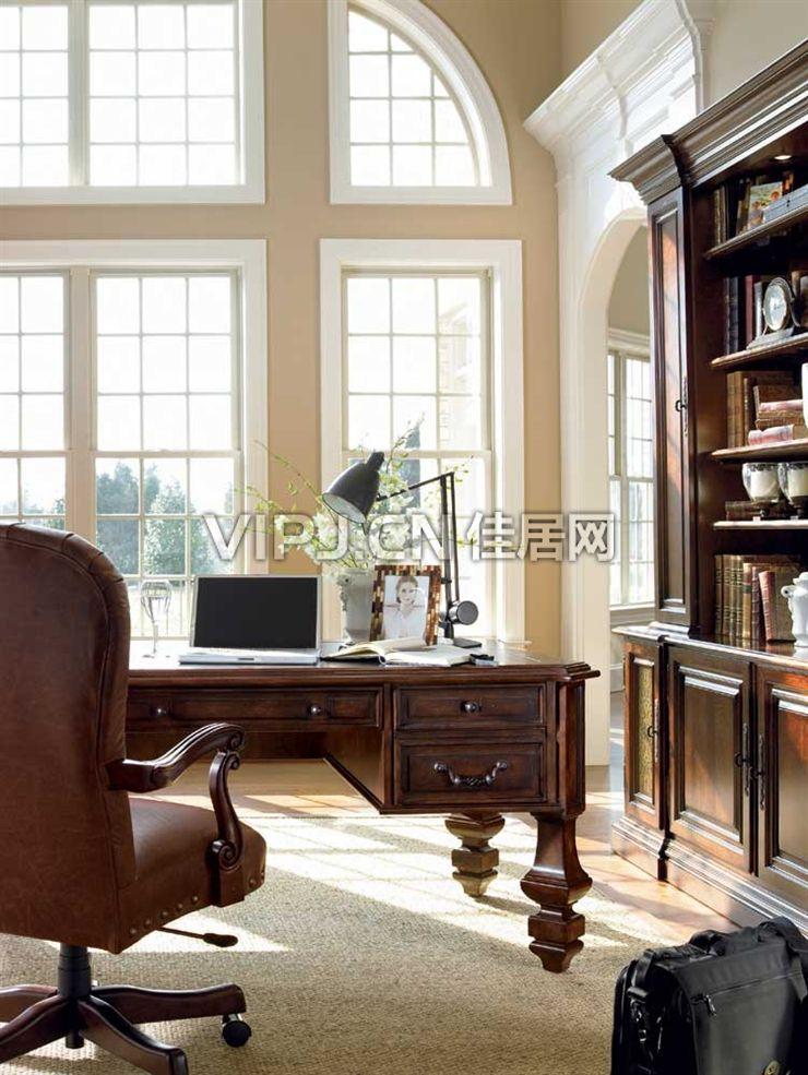 欧式家具 书房家具 书房套装