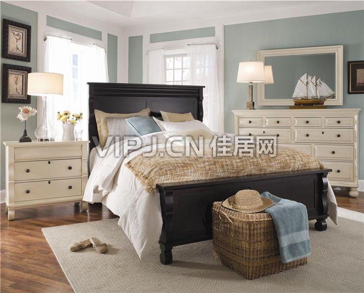 【欧式卧室床8628】