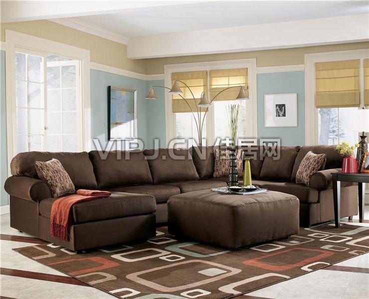 欧式客厅沙发