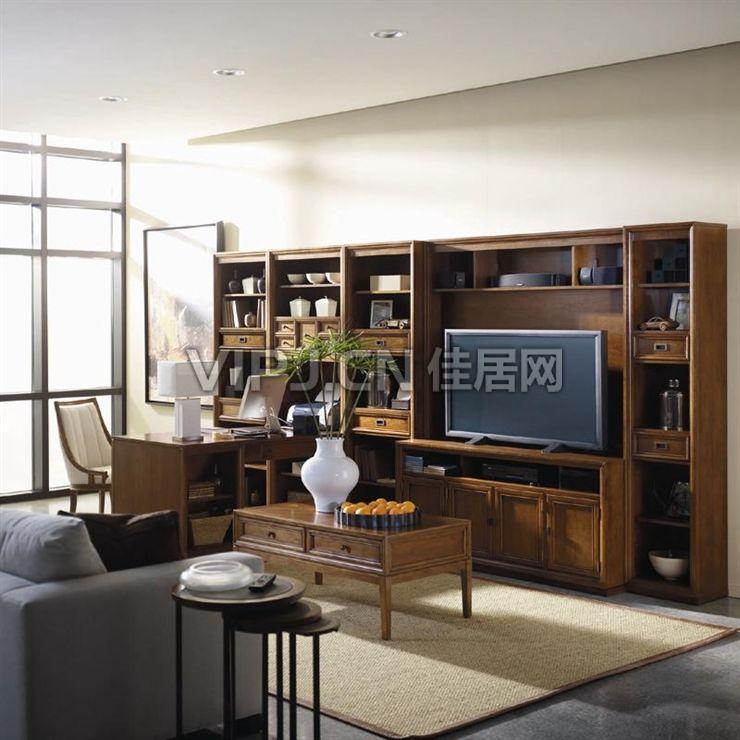 【美式客廳電視柜20055】