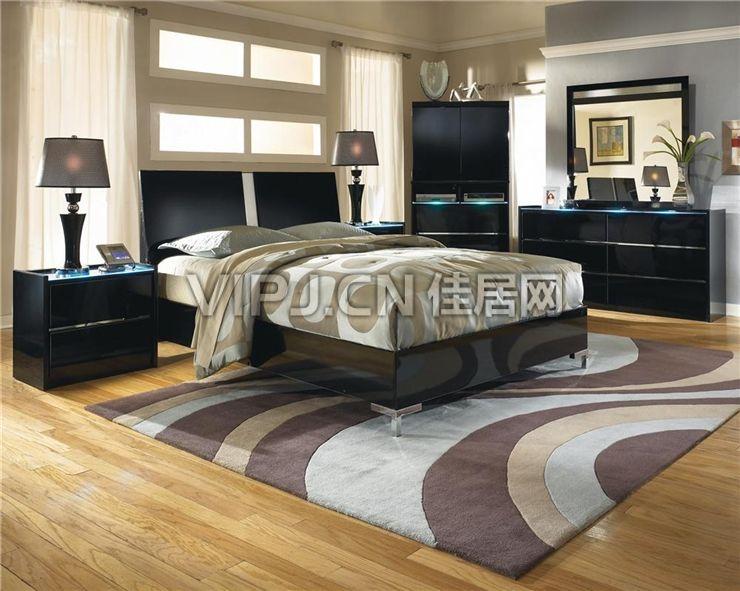 欧式卧室床图片
