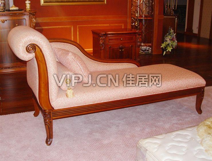 欧式客厅贵妃椅