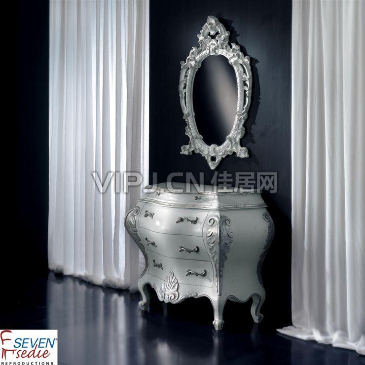 【欧式卧室梳妆台-镜21175】
