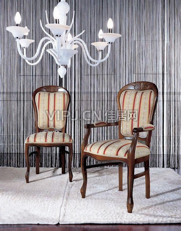 欧式客厅休闲椅