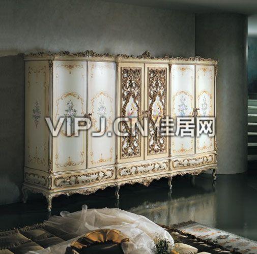 法式卧室衣柜